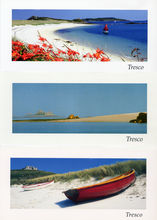 Holiday postcards for Tresco, Isles of Scilly. Advanced Images publishes and prints an exclusive series of postcards for the promotion of travel to Tresco